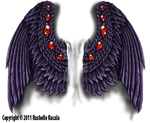 Tattoo Design: Reaper Wings