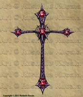 Tattoo Design: Cross by TheDragonofDoom