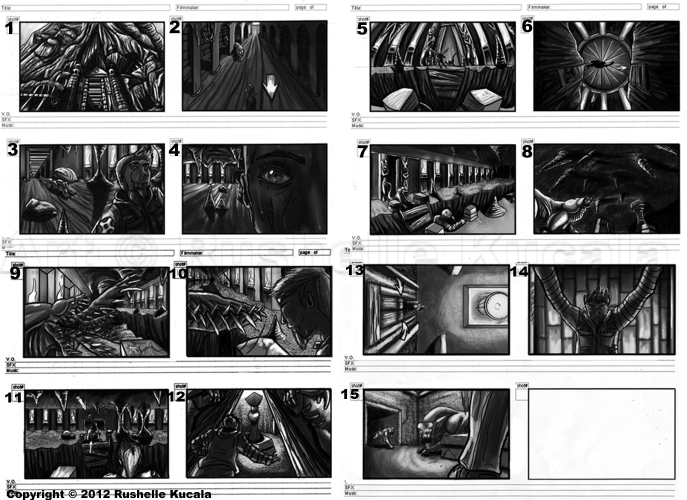 Kiruchi Storyboard by TheDragonofDoom