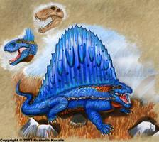 Dimetrodon by TheDragonofDoom