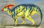 Parasaurolophus Reconstruction