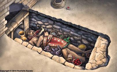 Zapotec Burial