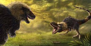 Tyrannosaurus Rex Standoff
