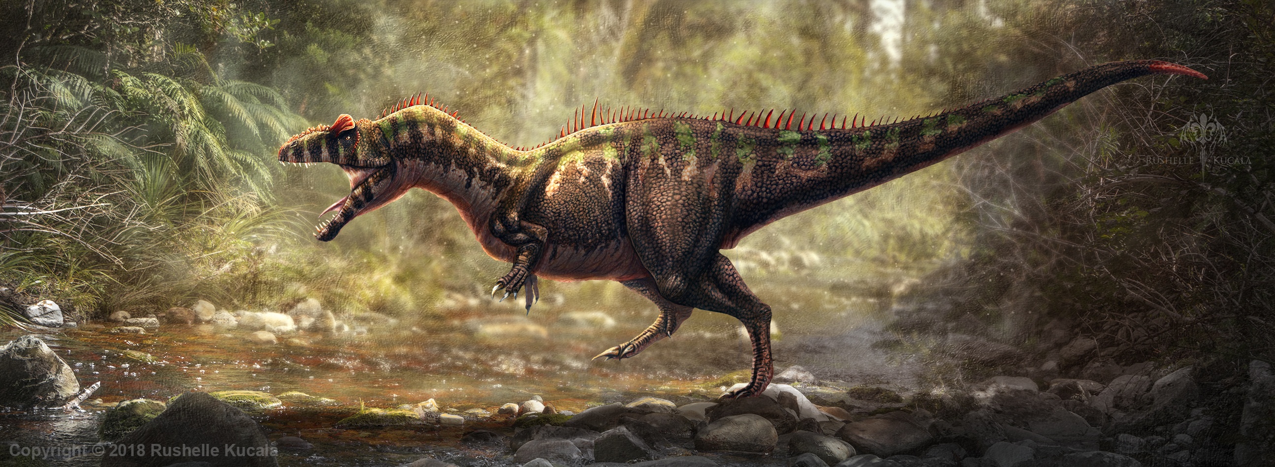 Allosaurus Fragilis Restored by TheDragonofDoom