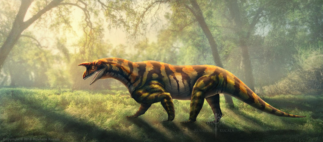 Shringasaurus Indicus Restored by TheDragonofDoom