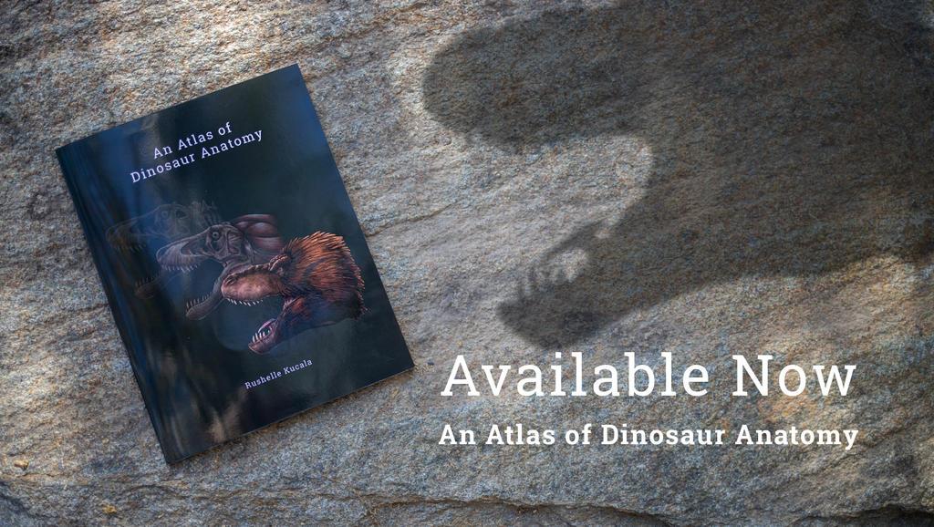 An Atlas of Dinosaur Anatomy Book Available Now