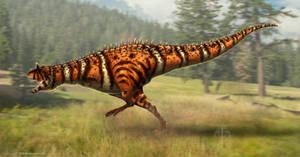 Carnotaurus sastrei Restored
