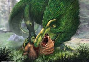 Tyrannosaurus Rex Vs. Grizzly Bear