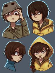 Little Nightmares - Characters