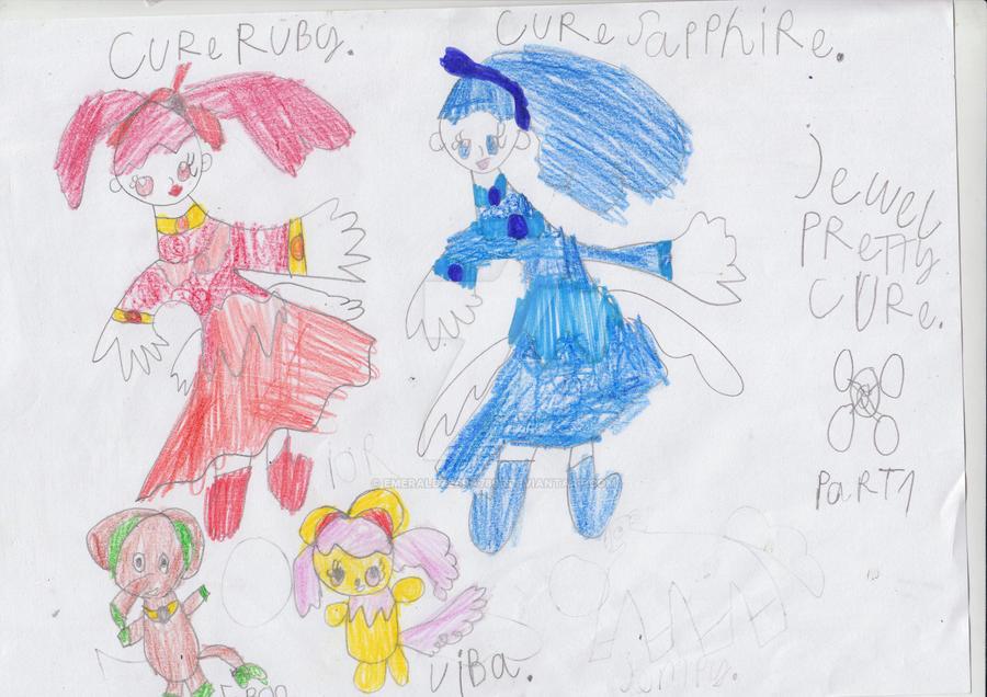 Jewel Pretty Cure part 1 by EmeraldZebra7895
