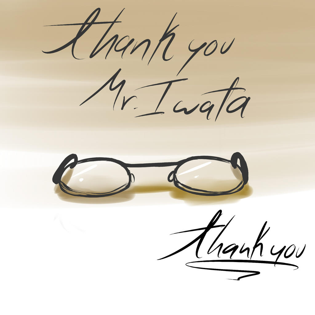 R.I.P Mr.Satoru Iwata by Karidesu