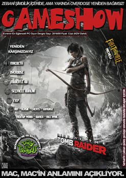 GameShow Magazine Fan-Made Cover