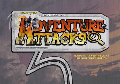 Adventure Attacks! Logo V0.1