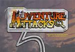 Adventure Attacks! Logo V0.1 by Full-Grim