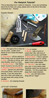 Fur Hairstick Tutorial