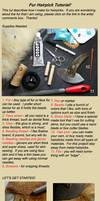 Fur Hairstick Tutorial by EskimoScrybe