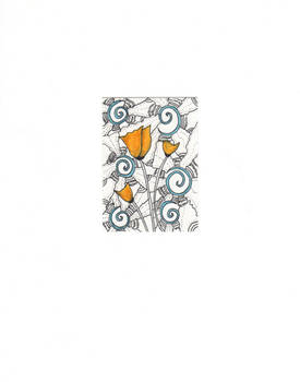 Arctic poppy - AK N8TV drawing