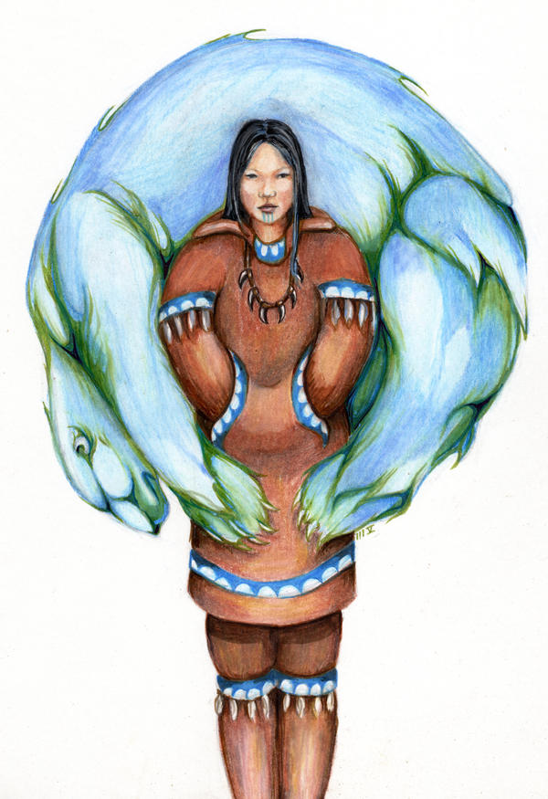 Guardian Spirit by EskimoScrybe