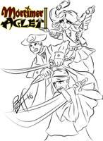 Some Cover Concept Art for Mortimer Aglet 2 by MortimerAglet
