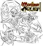 Mortimer Aglet 2  Cover Concept Art 2