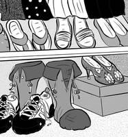 Shoe's life by MortimerAglet