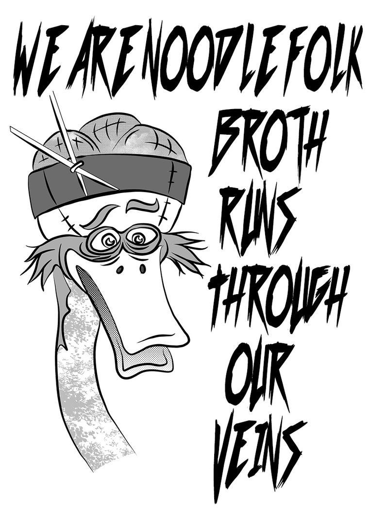 We are noodle folk by MortimerAglet