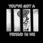 You've got a friend in me! by MortimerAglet