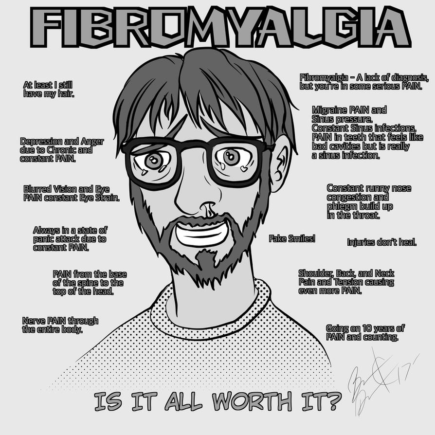 Fibromyalgia - Existence is PAIN by MortimerAglet