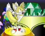 Tails got all Super Emeralds