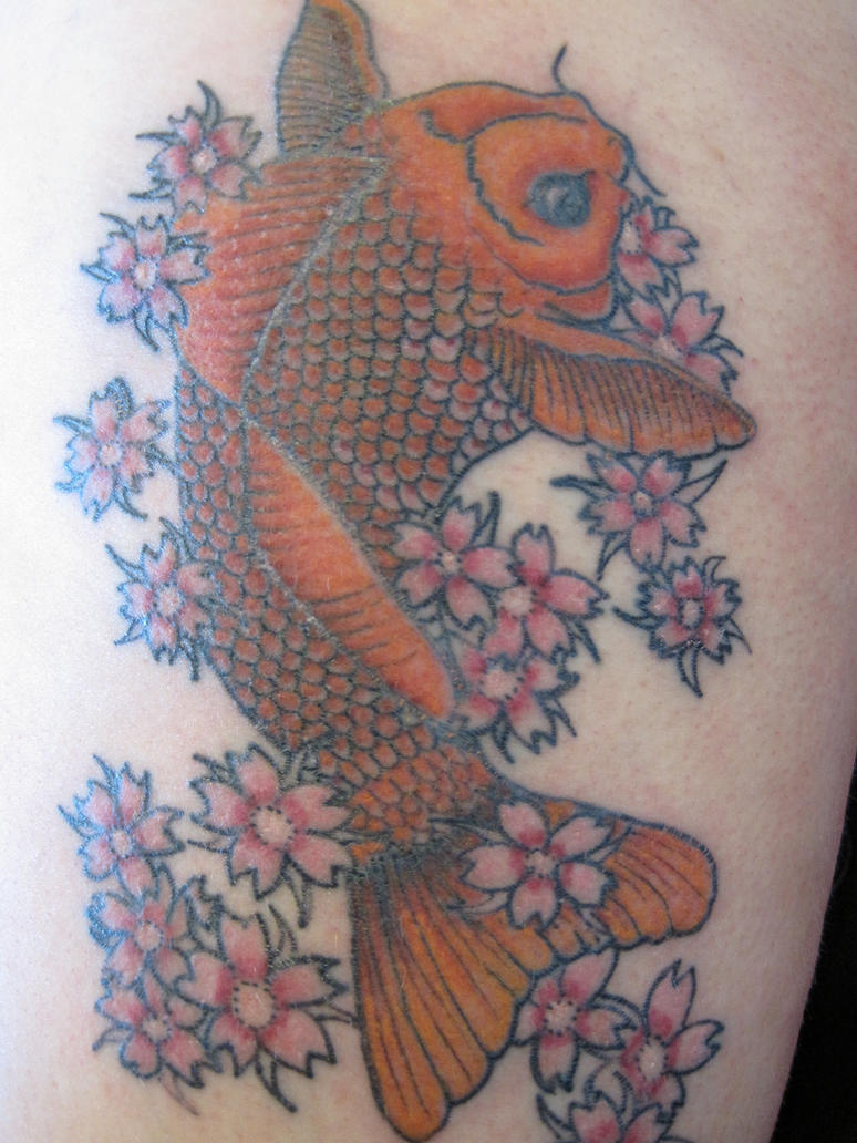 Koi Tattoo by angrypandaink