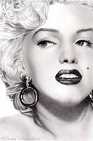 Marilyn Monroe II by LauraMel