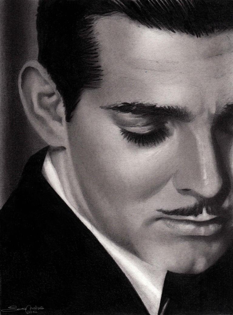 Clark Gable by LauraMel