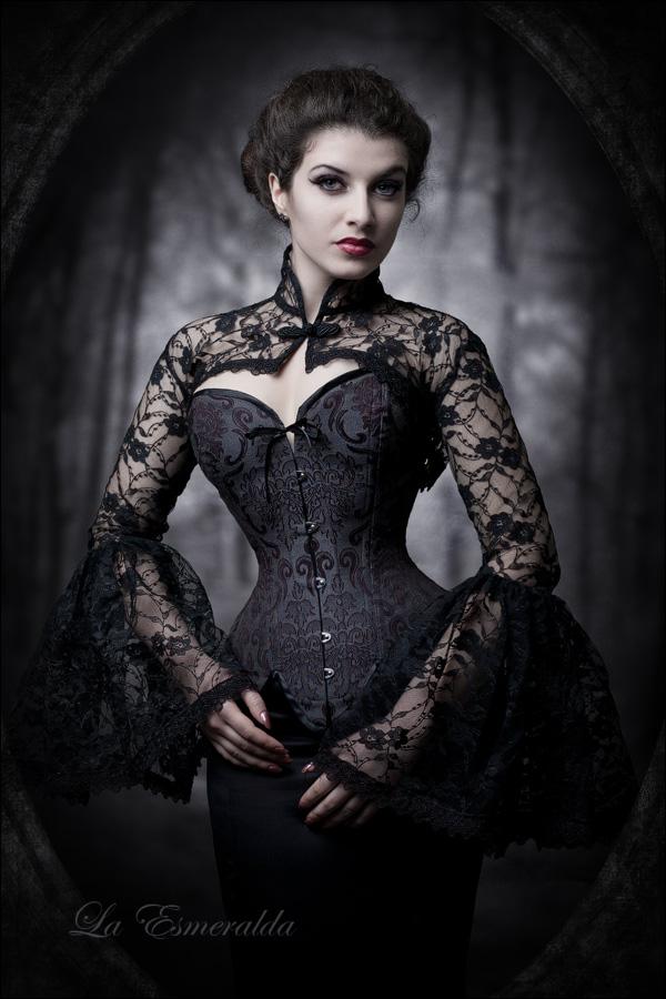 Dark Flower by la-esmeralda