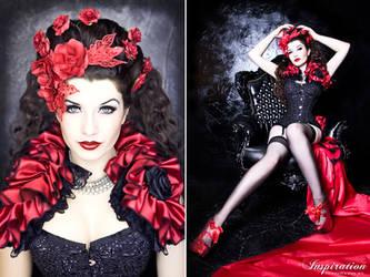 Rose red by la-esmeralda