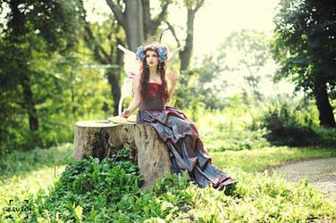 Lady Butterfly by la-esmeralda