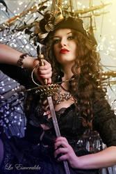 She is a Pirate! by la-esmeralda