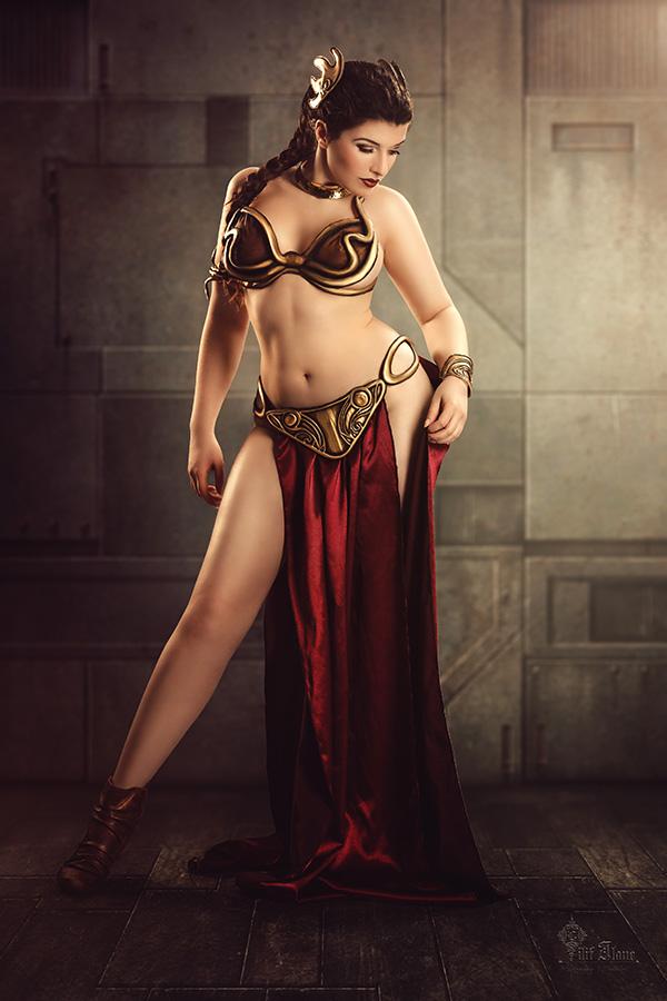 Slave Leia by la-esmeralda