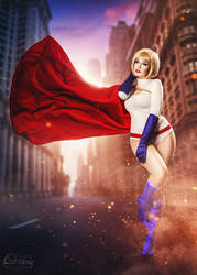 Power Girl by la-esmeralda