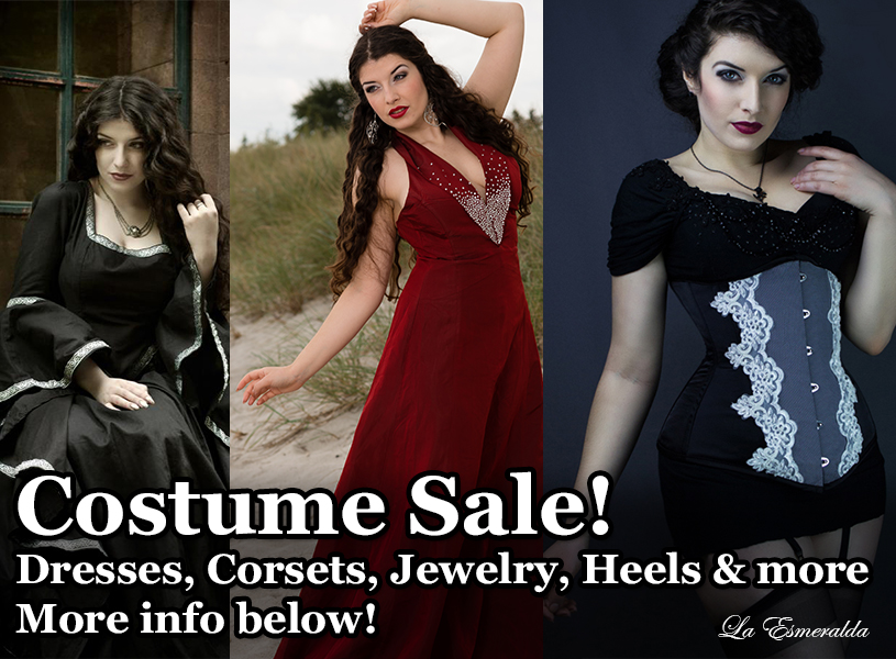 Costume Sale by la-esmeralda