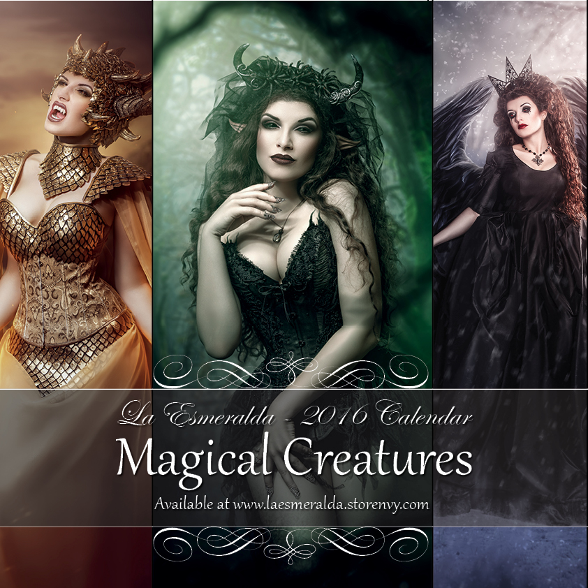Magical Creatures 2016 Fantasy Art Calendar By La