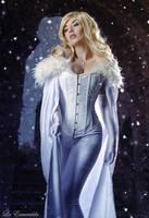 Emma Frost by la-esmeralda
