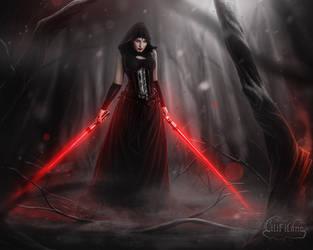 Welcome to the dark side by la-esmeralda