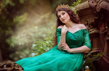 Frog Princess by la-esmeralda