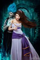 Hades and Megara by la-esmeralda