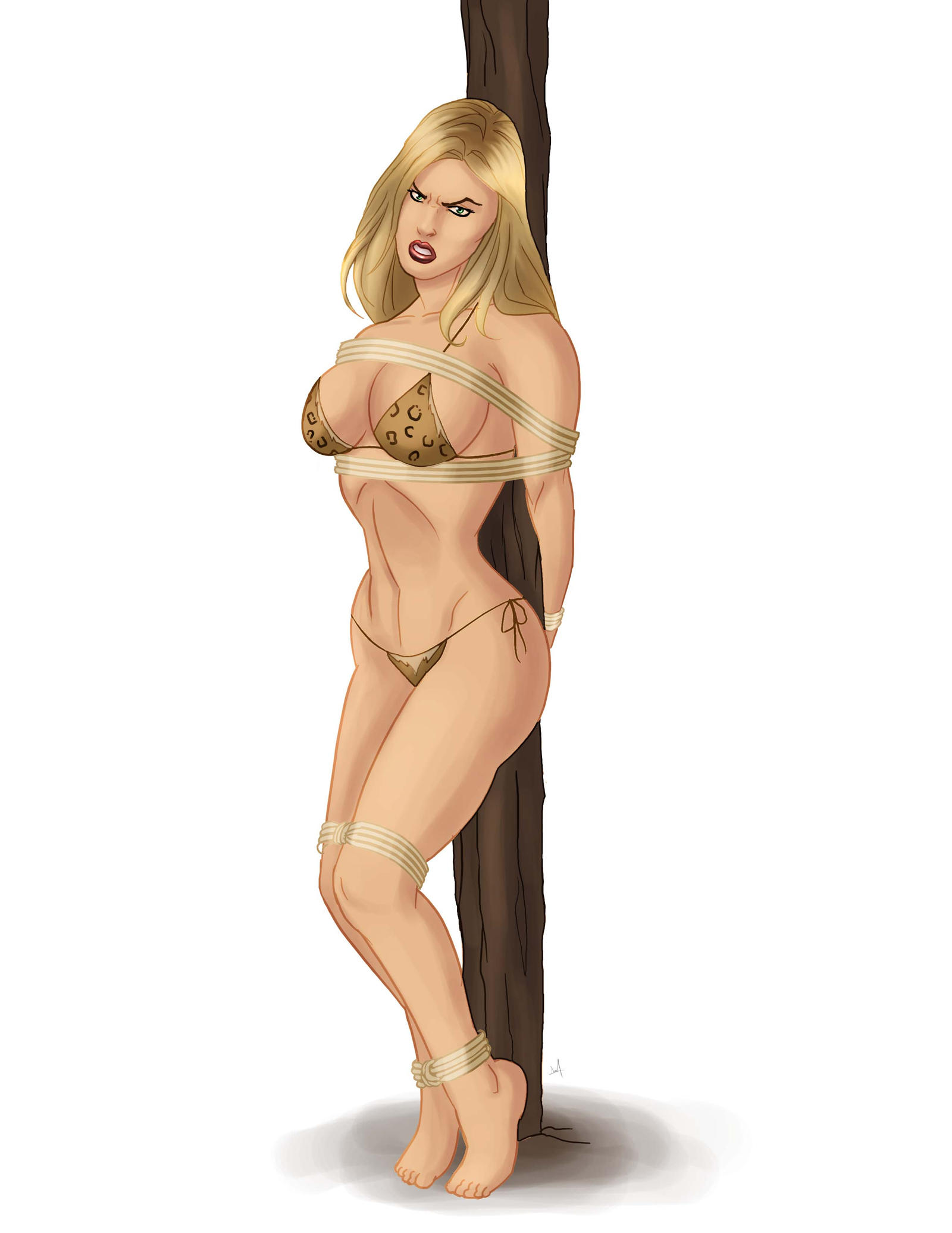 Jungle girls captured 3d hentay streaming