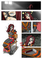 Lady Matina Mini-Comic (Page 1) by TBossAZ