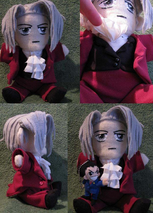 Edgeworth Plush by MinionofSloth