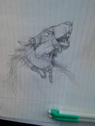 Rat ogre doodle