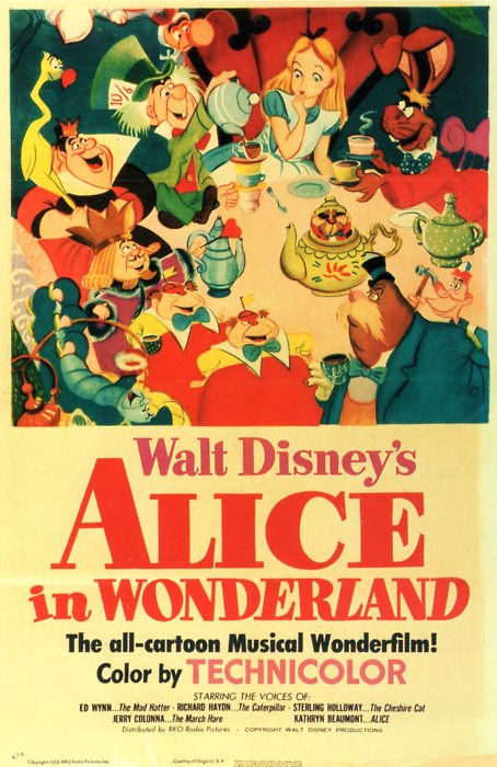 1951 movie poster by WDisneyRP-Alice