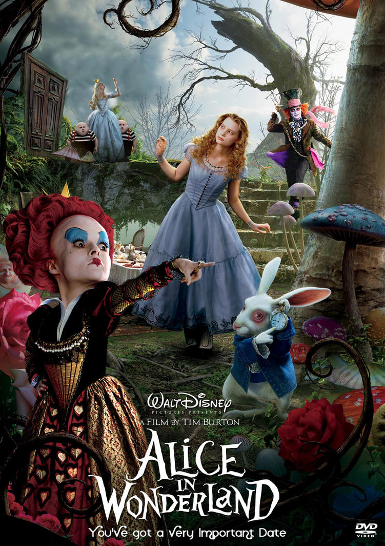 Alice in Wonderland 2010 poster xD by WDisneyRP-Alice
